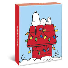 snoopy cards christmas assorted boxed cards
