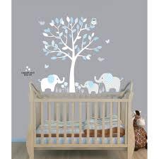 Elephant Wall Decal For Nursery by Baby Nursery Impressive White Gray Color Theme Neutral Ba Room