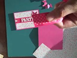 how to make 5 inexpensive birthday invitations 2 of 2 youtube