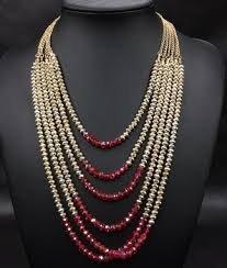 multi layer beaded necklace images 2015 multi layer bead necklace latest design beads necklace n3765 jpg