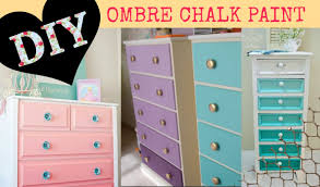 diy ombre paint for dressers or shelves youtube