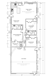 2 Master Bedroom House Plans Barndominium Floor Plans Pole Barn House Plans And Metal Barn