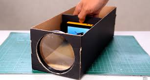 build a smartphone projector with a shoebox projection mapping