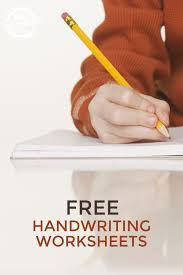 113 best printable handwriting worksheets for kids images on
