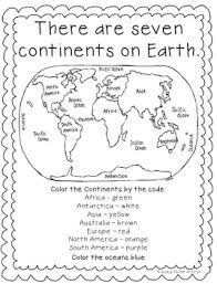traveling the world continents oceans maps and landforms