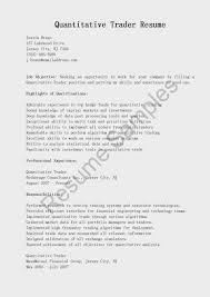 Parking Attendant Resume 100 Quantitative Resume Best Quantitative Analyst Resume