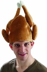 thanksgiving turkey hat craft amazon com forum novelties men u0027s roasted turkey hat brown one