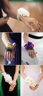 bridesmaid corsage bridesmaid corsages polka dot