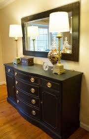 black u0026 gold buffet accessorized with tall table lamps with gold