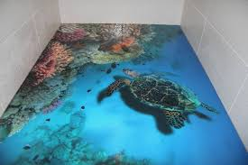 3d Bathroom Floors by 3d Art Bathroom Floor New 5 Steps To Install 3d Flooring In Your