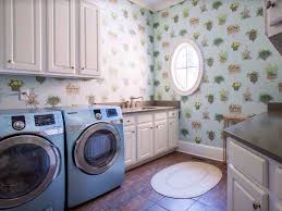 traditional laundry room with crown molding u0026 drop in sink