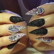 74 best bling nails images on pinterest bling nails coffin