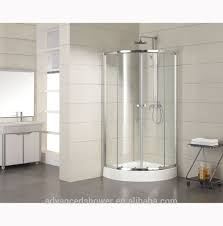 Bath Shower Door Quadrant Tempered Glass Bathroom Shower Shower Bath Shower Door