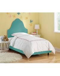 get the deal skyline furniture kids premier azure upholstered