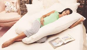 sleeping without pillow the best pregnancy pillow to get some much needed sleep 2017