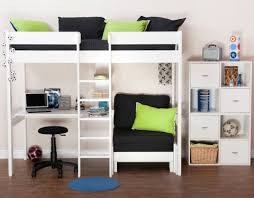 kids high sleepers and childrens beds with storage from stompa
