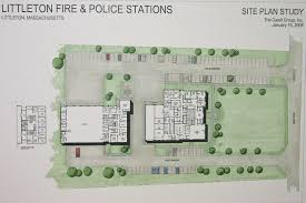 Fire Station Floor Plans Welcome To Littleton Massachusetts Town Facilities Plan