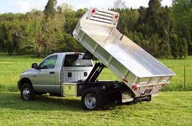 dodge truck beds aluminum truck beds by bull dump bed the aluminum truck
