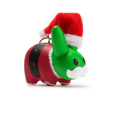 happy labbit tree ornaments 5 pack kidrobot