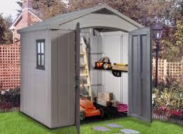 abris de jardin resine abri jardin resine esthétique et pratique livré avec plancher