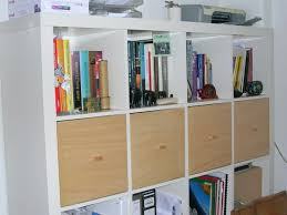 Ikea 4x4 Bookshelf by Homemade U0027tops U0027 Doors For Expedit Shelving Using Magnets Me