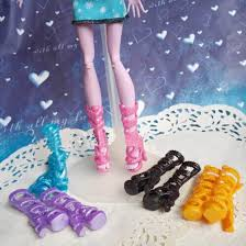 coloring gorgeous monster wedges doll shoes coloring
