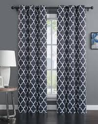 93 Inch Curtains Avondale Manor Madrid Panel Pair Curtains Grey Home