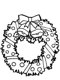 christmas wreath coloring pages christmas wreath christmas