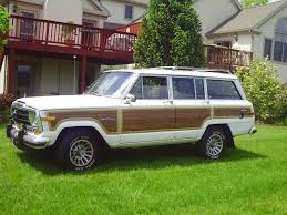 1988 jeep wagoneer 1990 jeep grand wagoneer specs and photos strongauto