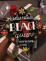 customized graduation caps black girl magic graduation cap diy black girl