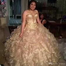 quinceaneras dresses ruffles tiered skirt gown quinceanera dresses gold crystals