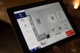 dulux app lets you virtually paint your walls without a tester pot