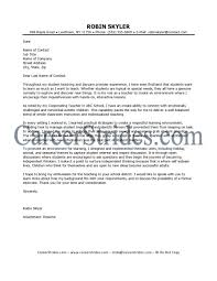 Covering Letter For Teaching Assistant Job Cover Letter Teacher Gallery Cover Letter Ideas