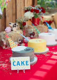 Barn Animal Party Supplies Barnyard 2nd Birthday Party With Minted Party Decor Kids