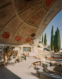 inside arcosanti paolo soleri s experimental desert town the ceramics studio doubles as a stage for performing arts and conferences