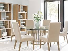 Metal Dining Room Furniture Lexington Dining Room Rendezvous Round Metal Dining Table Base 725