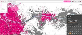 Verizon Coverage Map Michigan by Coverage Map Update Tmobile