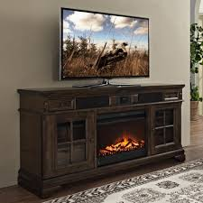 Fireplace Console Entertainment by San Andorra 66