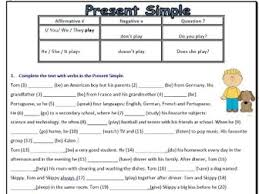 present simple tense by mariapht teaching resources tes