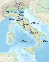 Map Of Lake Como Italy by List Of Rivers Of Italy Wikipedia