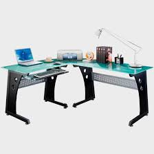 Blue Computer Desk by Furniture The Best Inspiring L Shaped Office Desk With
