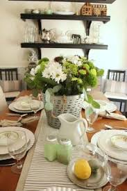 Setting Table White And Blue Coastal Table Starfish Cottage Share Your Craft