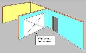 How To Remove Load Bearing Interior Wall Removing A Load Bearing Wall Part 1