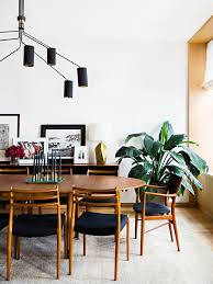 Mid Century Modern Dining Room Table Photography By Brittany Ambridge Interior Design By Gachot
