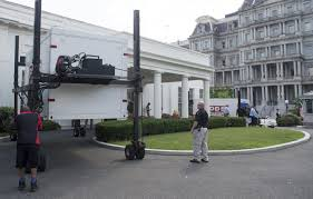 White House Renovation Trump by See The White House As A Construction Zone Cnn Video