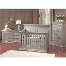 Baby Furniture Convertible Crib Sets Ba Cache Vienna 4 In 1 Convertible Crib Ash Gray Ba Cache