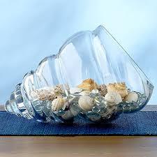 Glass Bowl Vases Shell Glass Bowl Vases Cost Plus World Market Polyvore