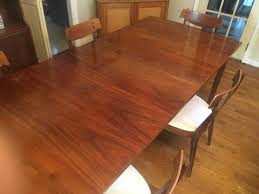 Drexel Dining Room Furniture Mid Century Modern Drexel Declaration Dining Table And Six Chairs