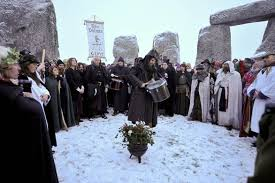 winter solstice attracts more than just druids to stonehenge