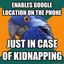 Paranoid Parrot Memes - paranoid parrot preventative measures things that make me go